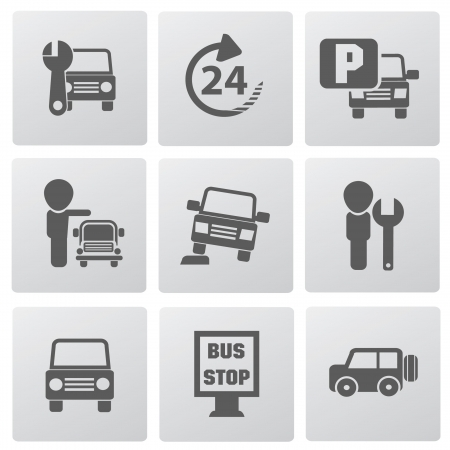 Auto auto set di icone