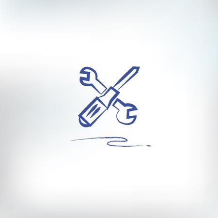 screw key: Repair