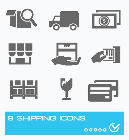 Logistic icon Stock Vector - 19770739