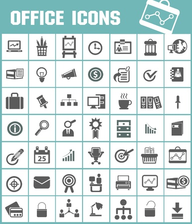 office chair: Office icon