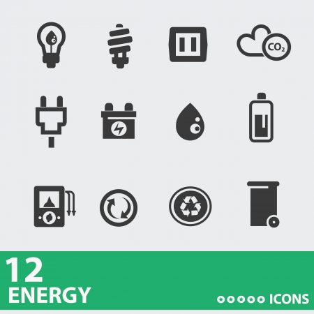 energy save: Power   Energy icons