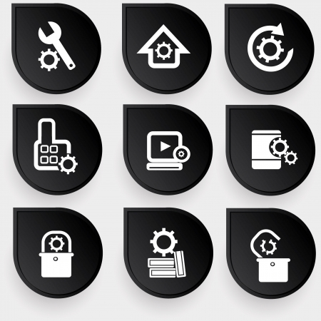 dag: Gears icons
