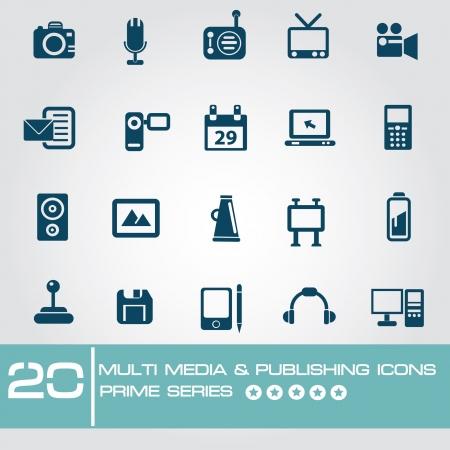 multi media: Multi Media Editoria icone, Primo serie