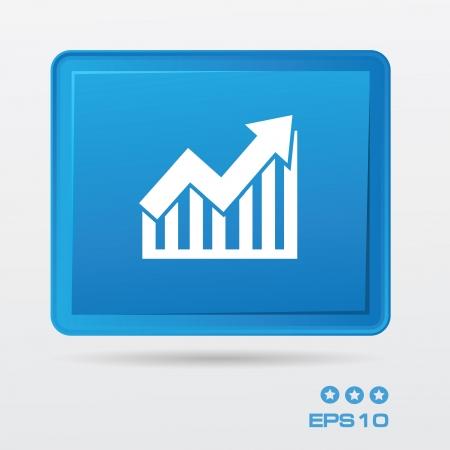 Graph Stock Vector - 19770697