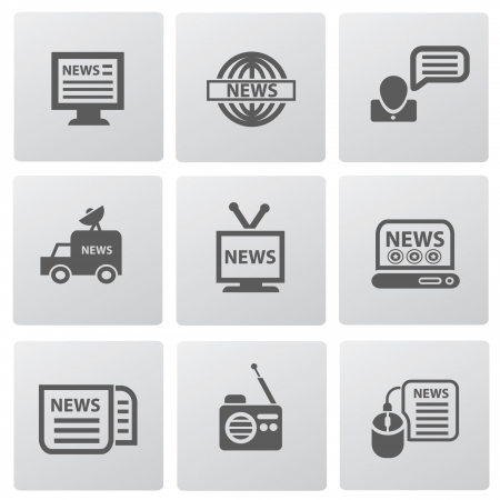 news van: News icons
