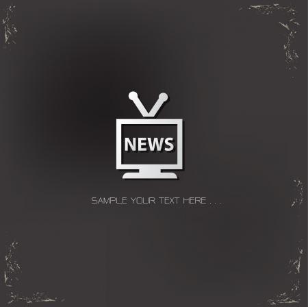News sign Vector
