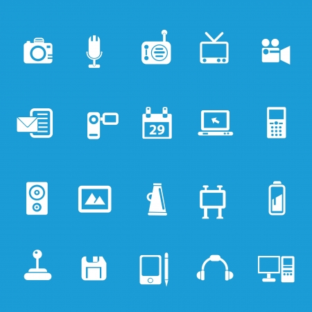Media   Publishing icons,Prime series Vector