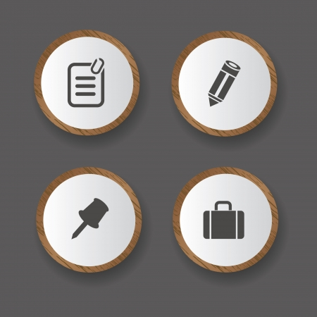 typing machine: Office icons,vector Illustration