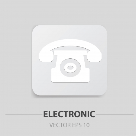 Telephone sign Stock Vector - 19908212