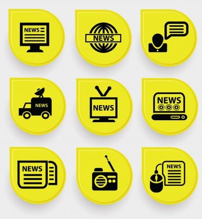 news media: News icons