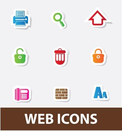 feed back: Web icons