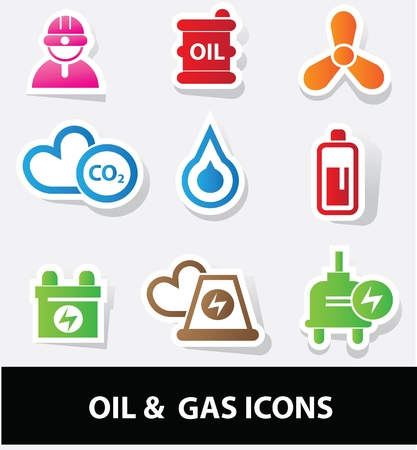 energy savings: Energy icons