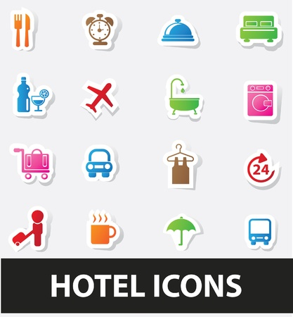 do not disturb: Hotel icons