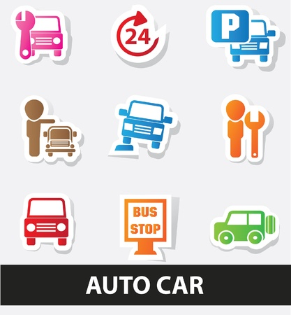 renter: Auto car icons