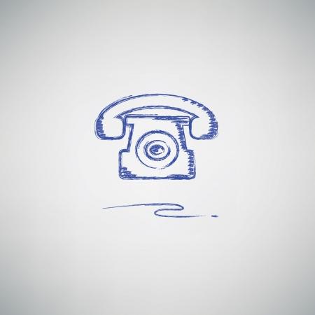 bakelite: Telephone sign