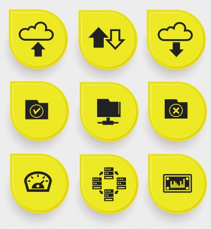 centralised: File sharing icons