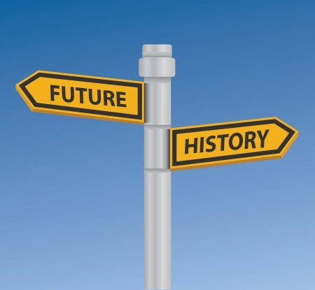 two way traffic: Future   history signpost