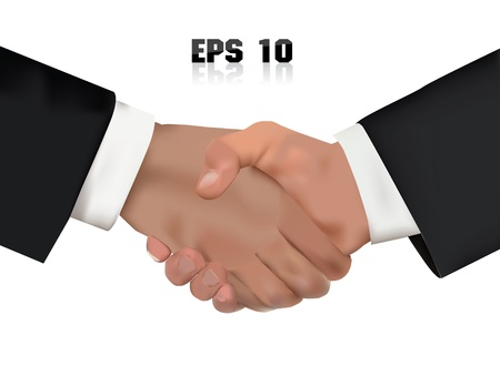 pact: Hand shake,Business concept