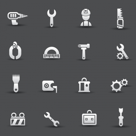 Tools Engineer sign icons