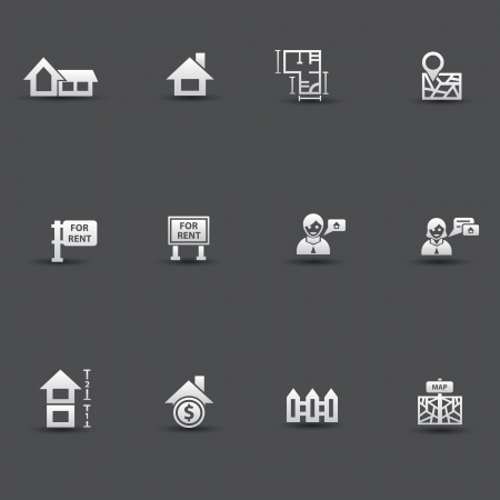 House ,sale icons Stock Vector - 20087096