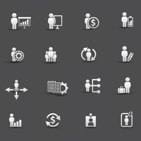 resource: Human resource icons Illustration