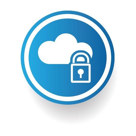 Cloud computing sign Stock Vector - 20168029