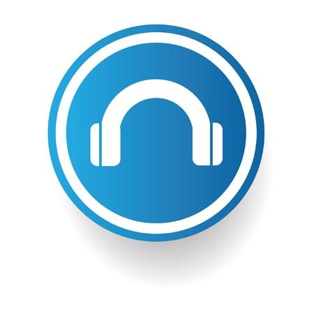 earphone: Earphone sign