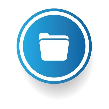 Folder symbol,vector Stock Vector - 20438090