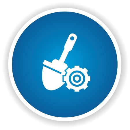 Construction symbol Stock Vector - 20437962