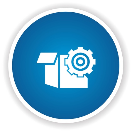 Package symbol,vector Stock Vector - 20437857