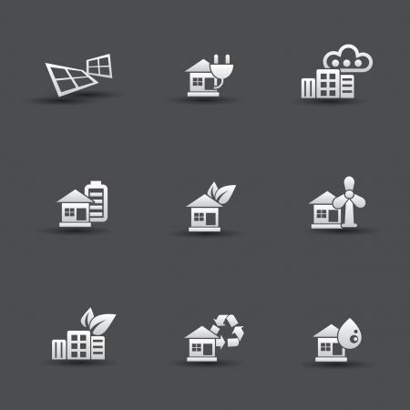 antipollution: Iconos de la ecolog?a