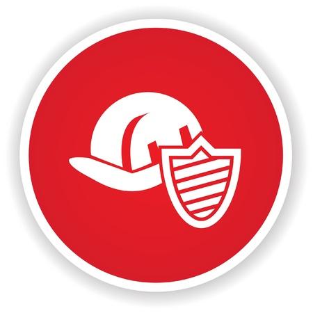Hat engineer symbol Stock Vector - 20433462