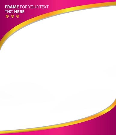 Frame Roze abstracte achtergrond, vector Vector Illustratie