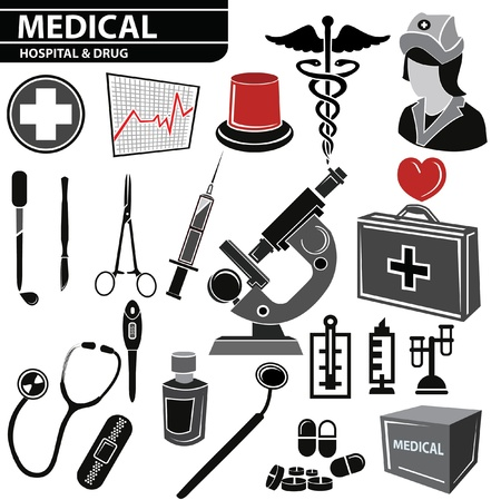 Medical set,vector Stock Vector - 20568599