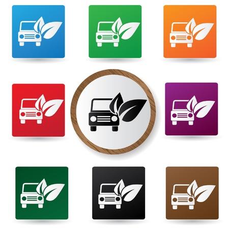 echnology: Ecology car sign