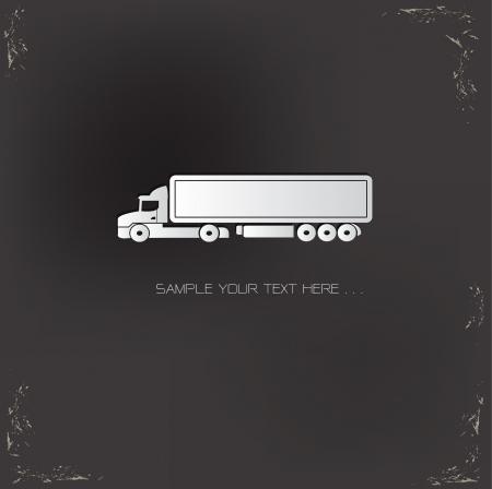 Logistic car symbol Vector