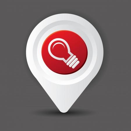 Light bulb symbol,vector Stock Vector - 20564897