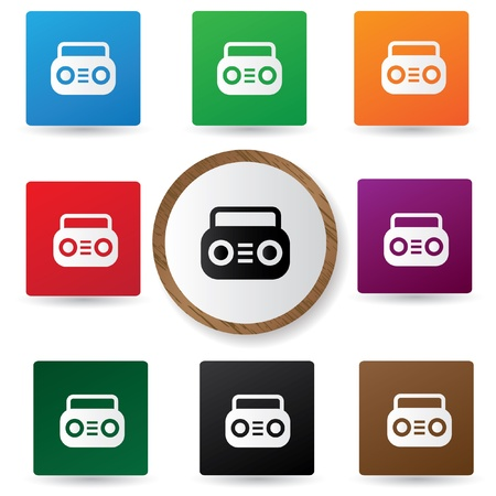 Radio symbol Stock Vector - 20564908