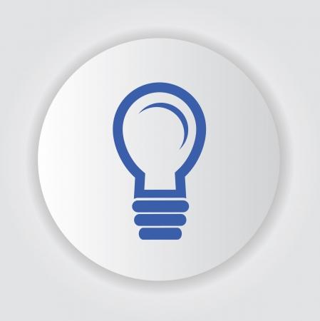 Light bulb symbol Stock Vector - 20564980