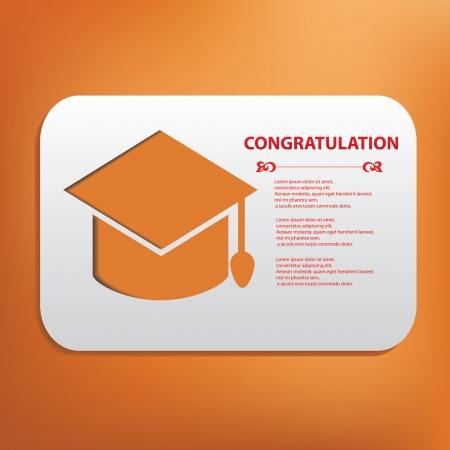 Congratulation symbol Vector