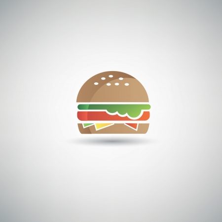 Hamburger symbol Stock Vector - 20565072