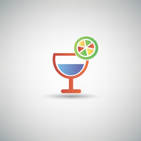 Drinks symbol Vector