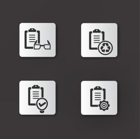 Document icon,set 04 Stock Vector - 20565079