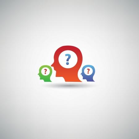 unsure: Simbolo di domanda, vettore
