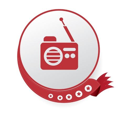Radio symbol Stock Vector - 20565006