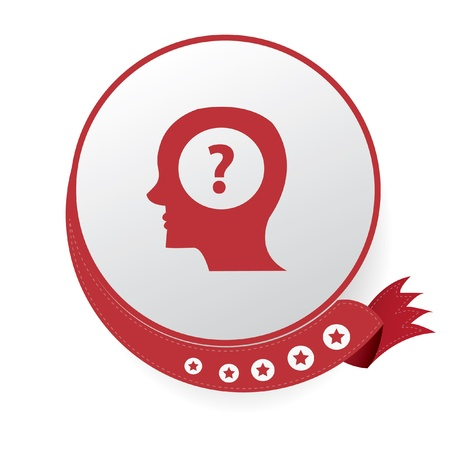 Question icons Vector