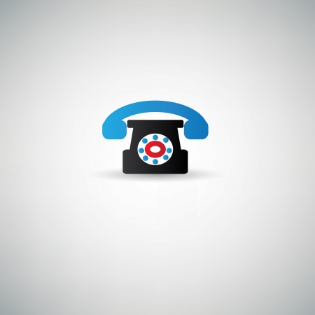 Telephone symbol Stock Vector - 20616525