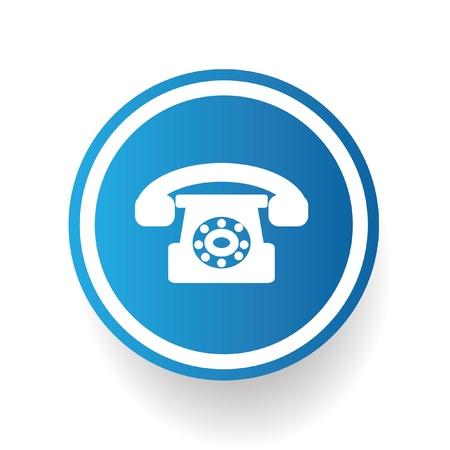 Telephone service symbol Stock Vector - 20761687
