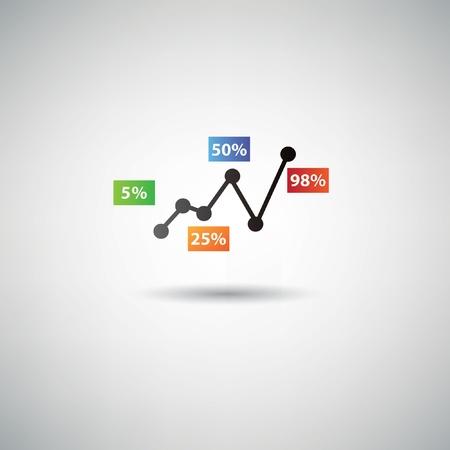 Analysis symbol Stock Vector - 20761786