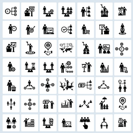 Business,Human resource,icons,Vect or Vector